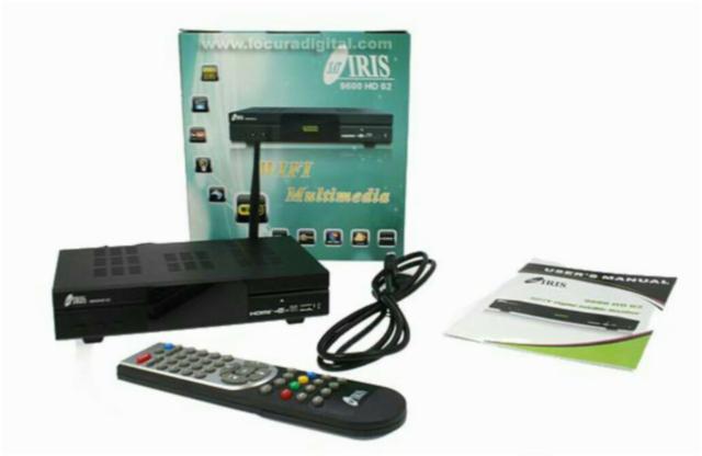Decodificador Iris 9600 HD: Más de 7.000 canales