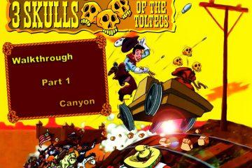 Las tres calaveras toltecas, un video juego clásico olvidado